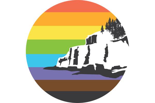 Bar Harbor Gay Pride Logo
